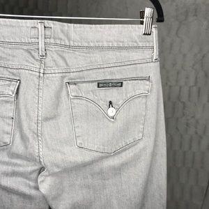 Hudson Gray Collin Flap Skinny Jeans #NW422ZAS